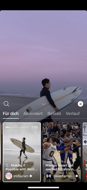 instagram browse
