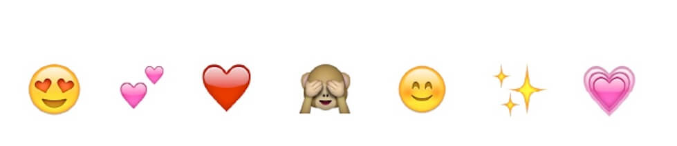 The most used emojis on Instagram
